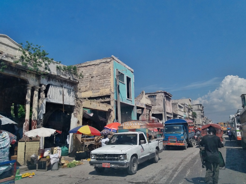 181030 Port au Prince downtown