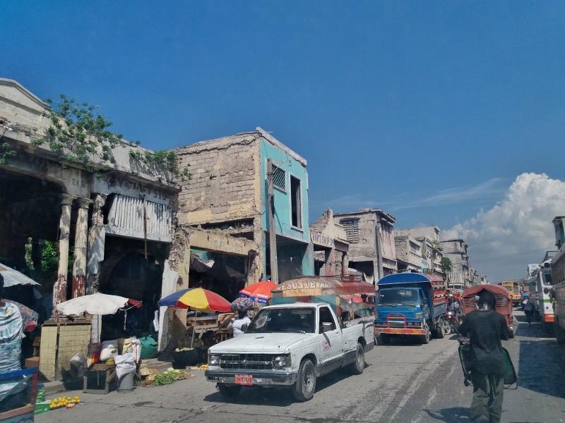 181030 Port au Prince downtown